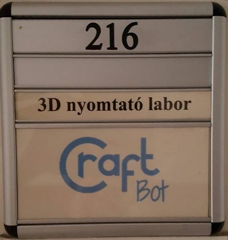 3d nyomtató labor