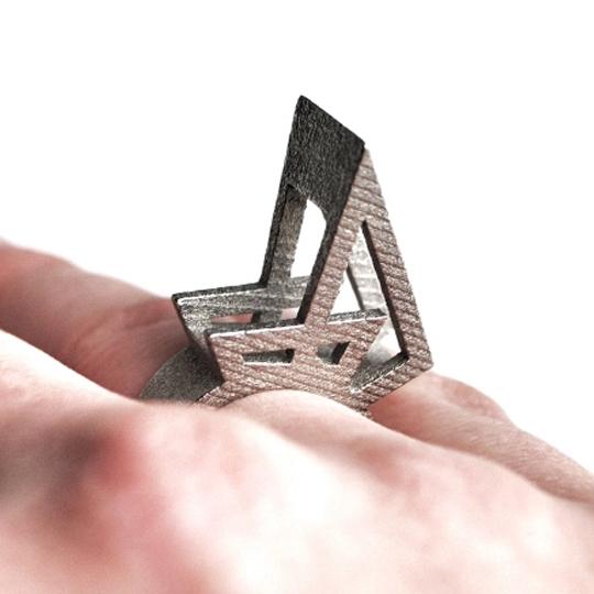Egyedi ékszerek 3D modellezése és nyomtatása sls eljárással