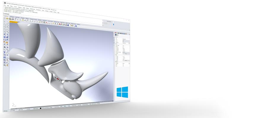 Rhino 3D modellezés oktatás