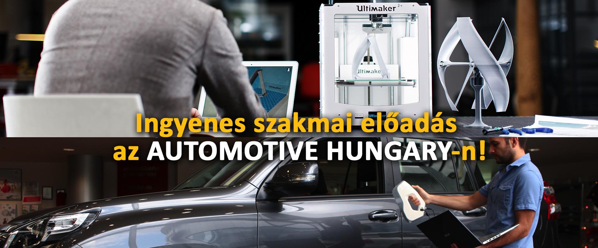 3D szkennelés és 3D nyomtatás az autóiparban
