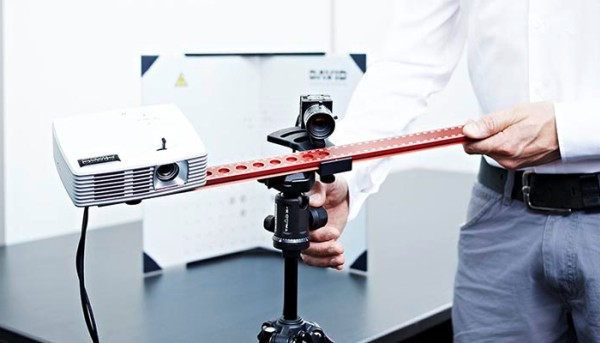 HP Pro S2 / DAVIS SLS-2 telepített 3D szkenner