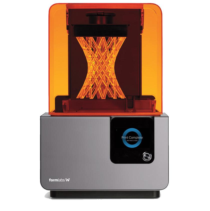 Form 2 nagyfelbontású, sztereolitográfiás 3D nyomtató