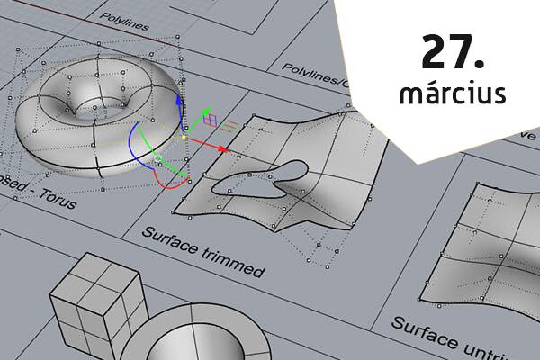 3D MODELLEZÉS BEVEZETŐ WORKSHOP