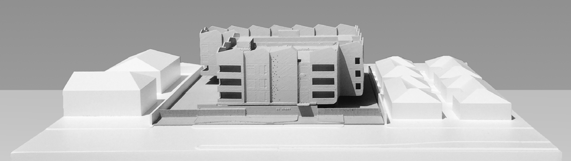 3D nyomtatott házmodell